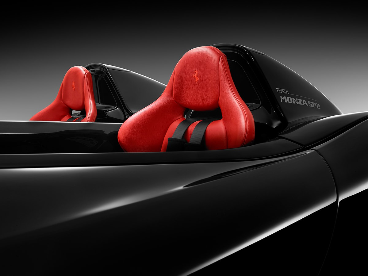 Ferrari Monza SP2: design