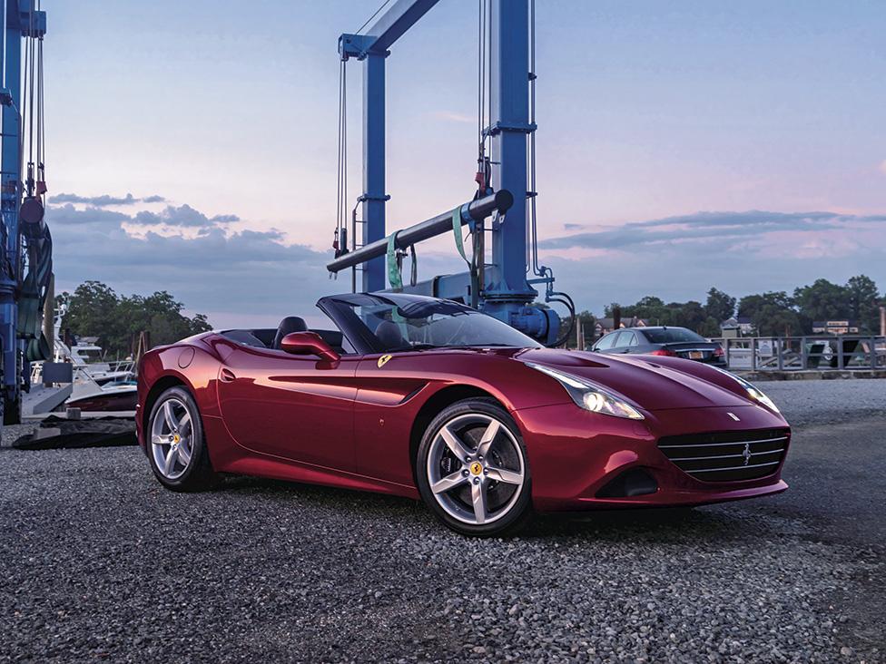 Ferrari California T - Architecture