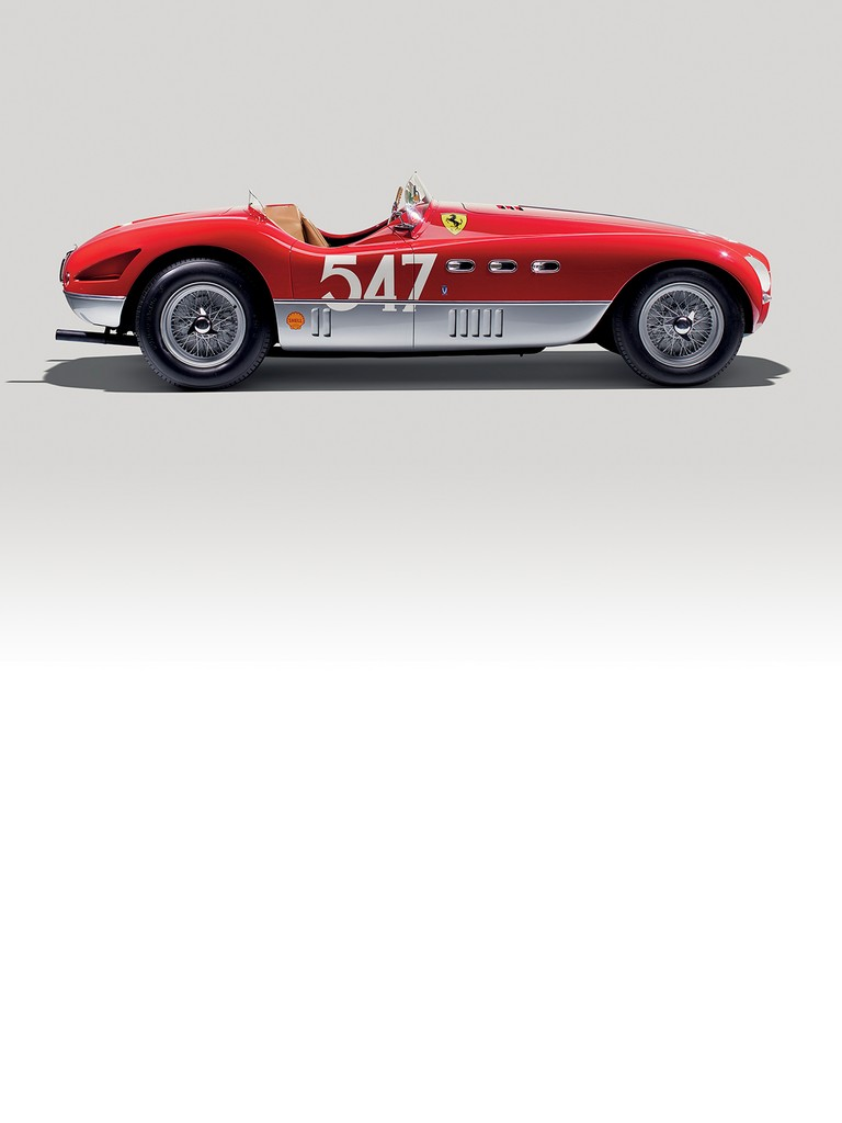 The Ferrari 340 MM was built for the 1953 Mille Miglia which Giannino Marzotto duly won in a barchetta version with coachwork by Vignale.