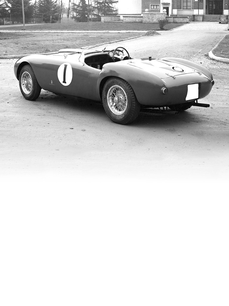 The Ferrari 375 Mille Miglia carried on the Ferrari tradition of naming sports models after the famous Italian road race