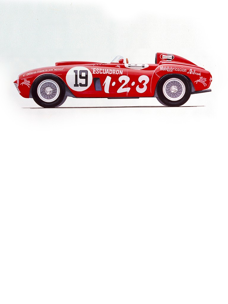 Enzo Ferrari decided to build a small series of spiders that would spearhead the Scuderia's latest assault on the World title. These cars were to be known as the Ferrari 375 PLUS