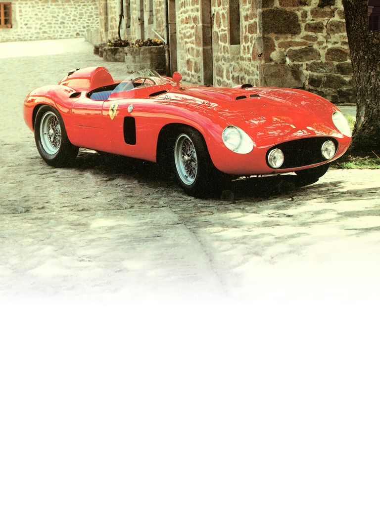 A development of the 750 Monza, the Ferrari 860 Monza used a bigger displacement,