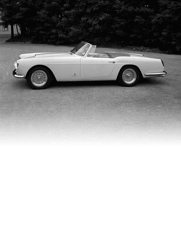 Ferrari 250 GT Cabriolet: Pininfarina presented this two-seater spider at the Geneva Motor Show in 1957