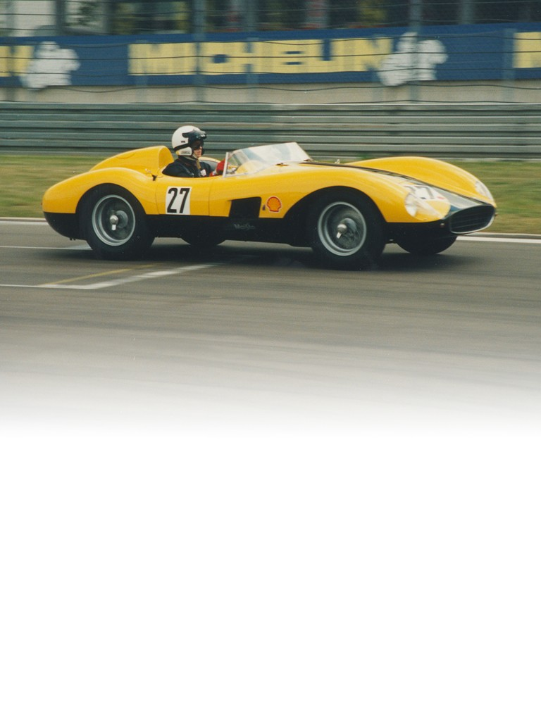 The Ferrari 500 TR launched the previous year needed to be revised to comply with the new C-section regulations
