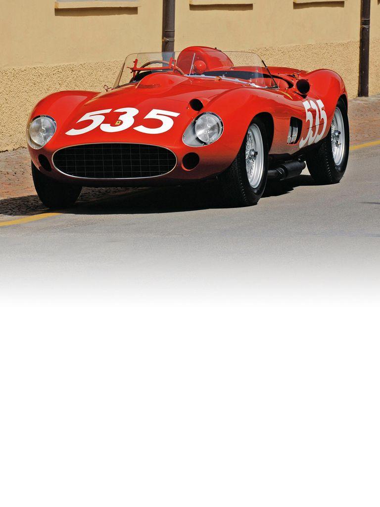 The Ferrari 315 S signalled a major advance on the single camshaft engine