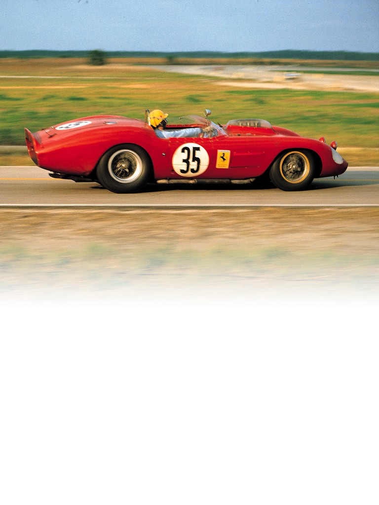 Just like the two-litre version, the ferrari Dino 246 S shared a similar styling to the 250 Testa Rossa of the same era.