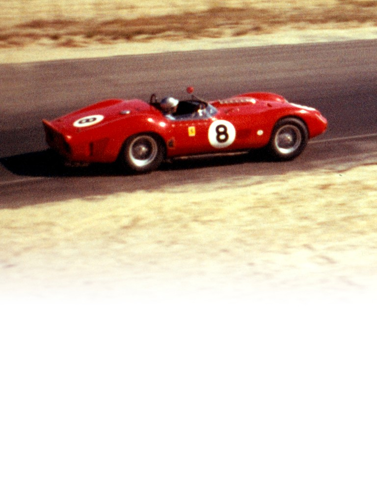 Ferrari 330 TR: This one-off was the last Ferrari front-engined sports car to win the classic Le Mans 24-hour race.