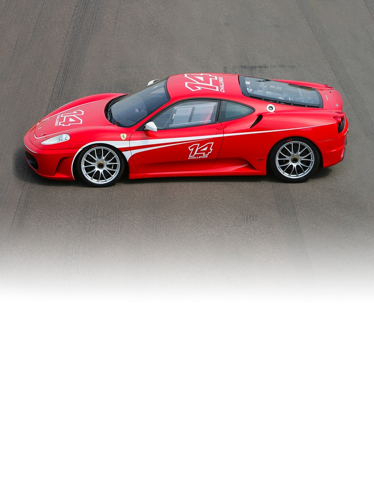 The F430 Challenge, the 8-cylinder berlinetta-derived competition car that will be taking part in the Ferrari Challenge Trofeo Pirelli from the 2006 season.