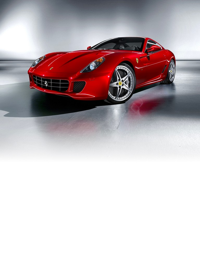 The Ferrari 599 GTB Fiorano sprints from 0 to 100 km/h in 3.7 seconds and has a top speed in excess of 330 km/h