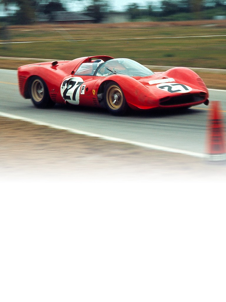 An evolution of the 330 P2, the Ferrari 330 P3 featured a new tubular chassis with a fibreglass tub
