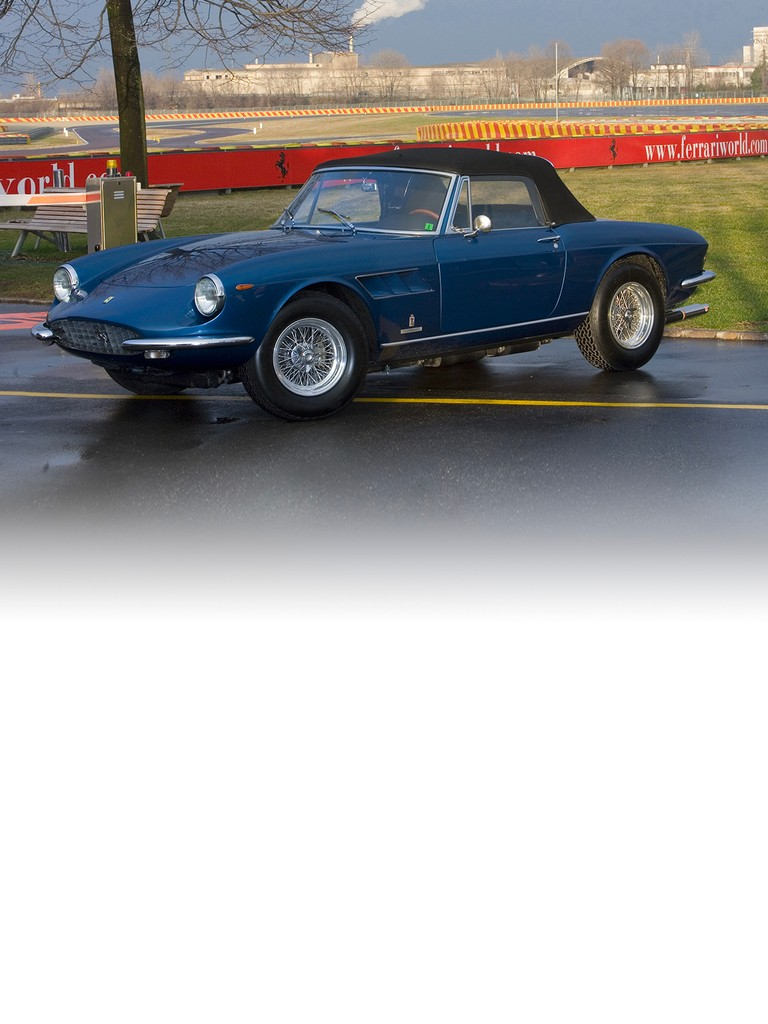 the Ferrari 330 GTS was presented at the Paris Motor Show in October 1966.