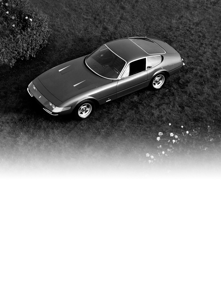 Ferrari 365 GTB4: The evolution of the 275 GTB4 was a milestone in the history of extreme high-performance front-engined sports cars.