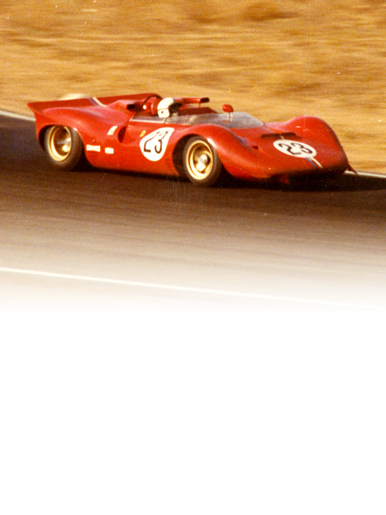 Ferrari 350 Can Am: When sports car races were organised on the Canadian and American tracks in 1966, Chinetti asked Ferrari to come up with a suitable car.