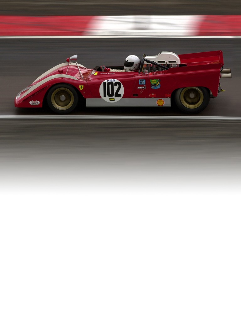 Ferrari 712 Can Am: The need for very high torque to cope with the torturous tracks of the Can Am series saw Ferrari build its biggest ever engine at around seven litres.