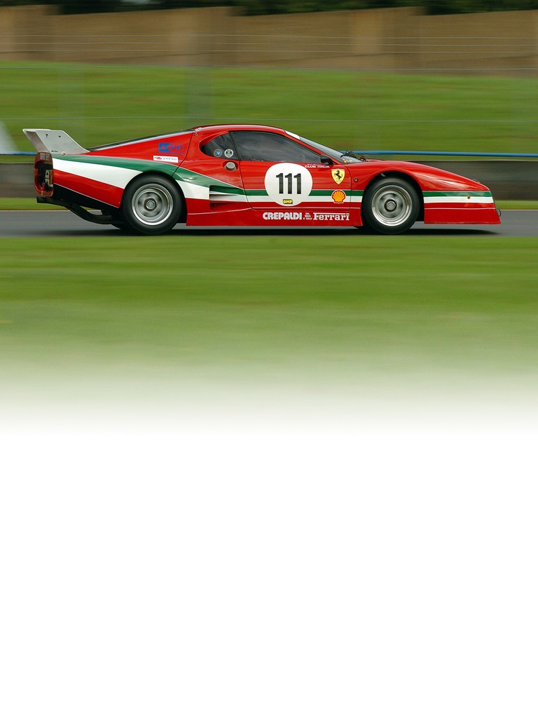 The Ferrari 512 BB LM was also considered to have racing potential