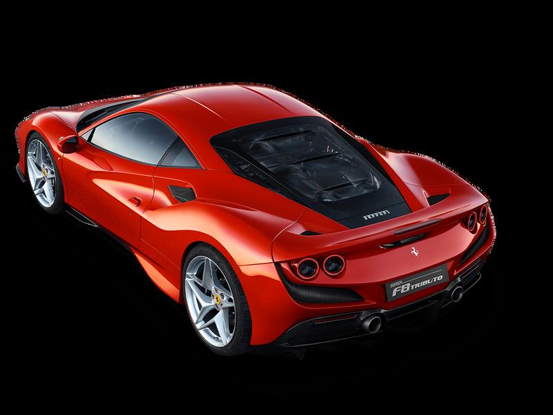 Ferrari F8 Tributo - Line Up Ferrari.com