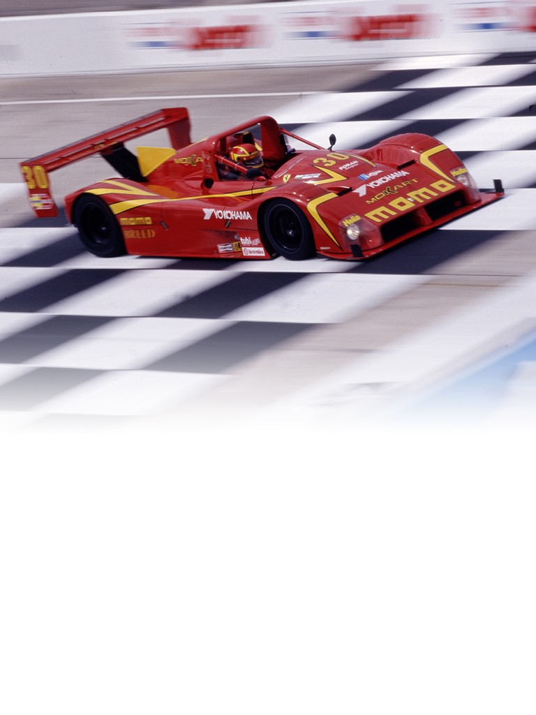 The F333 SP marked Ferrari's return to the sports-prototype racing