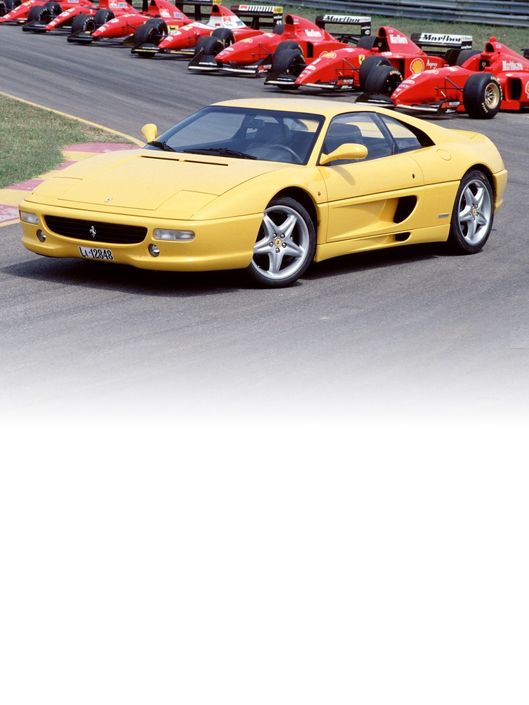 Ferrari 355 F1 Berlinetta: This was the first ever road car to be equipped with the innovative F1-style gearbox management system