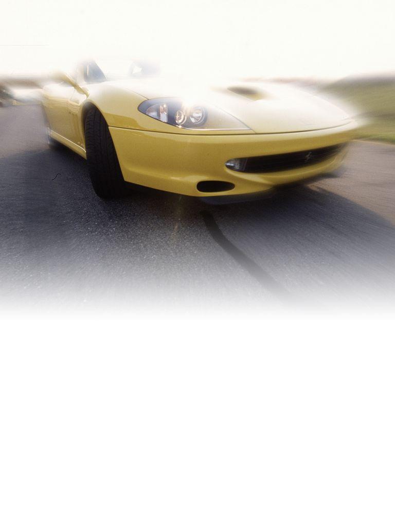 The Ferrari 550 Barchetta Pininfarina was so named to commemorate the 70th anniversary of Ferrari's coachbuilder and stylist.
