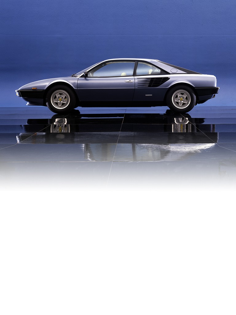 Unveiled to the waiting world at the 1980 Geneva Salon, the new Mondial 8 was very much the successor to the 308 GT4, and the styling marked the return of this high-performance, mid-engined, V8-powered 2+2 coupé to the Pininfarina fold. The Mondial 8 featured a wheel base 10 cm longer than the old model, thereby affording more space to the back seats. Good anti-corrosion treatment, lots of attention to detail and a more ergonomic interior, plus a class-leading high-performance engine, complete the profile of what truly can be defined as Ferrari's first car with all-round appeal.