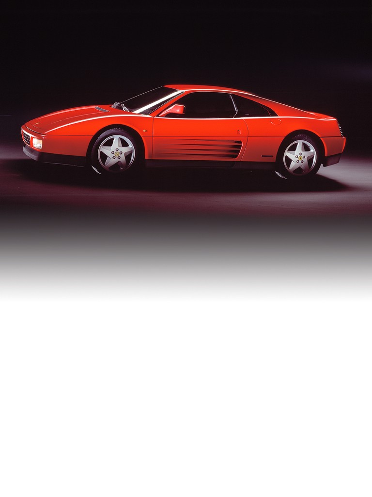 Heir to the 328 GTB, the Ferrari 348 TB was actually a completely new car, which offered a new interpretation of the two-seater mid-engined V8 berlinetta. The body combined styling cues from the Testarossa – along the flanks – with ones from classic models of the past (such as the front-end treatment, reminiscent of the 375 MM).