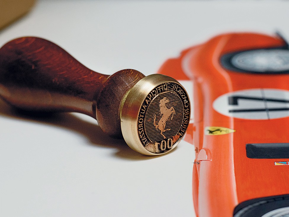 The essential starting point of the service offered by Ferrari Classiche is the Certificate of Authenticity