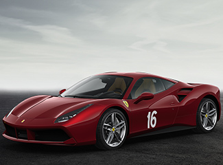 Ferrari 488 GTB - INSPIRED BY THE 340 AMERICA BARCHETTA