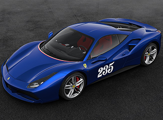 Ferrari 488 GTB - INSPIRED BY 500 Mondial
