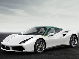 Ferrari 488 GTB - INSPIRED BY 250 GT Coupé