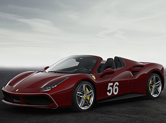 Ferrari 488 Spider - INSPIRED BY THE 125 S