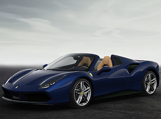 Ferrari 488 Spider - INSPIRED BY THE 166 MM