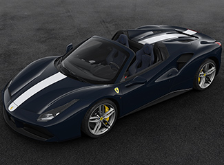 Ferrari 488 Spider - INSPIRED BY 340 MM Vignale spider