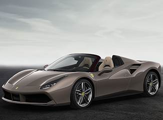 Ferrari 488 Spider - INSPIRED BY 250 Europa