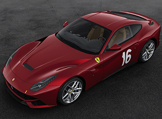 Ferrari F12berlinetta - INSPIRED BY THE 340 America barchetta