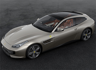 Ferrari GTC4Lusso - Inspired by the 195 Inter Touring coupé