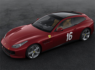 Ferrari GTC4Lusso - Inspired by the 340 America barchetta