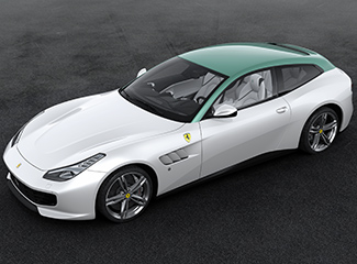 Ferrari GTC4Lusso - Inspired by the 250 GT Pinin Farina coupé
