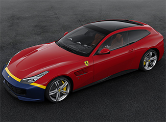Ferrari GTC4Lusso - Inspired by the 290 MM