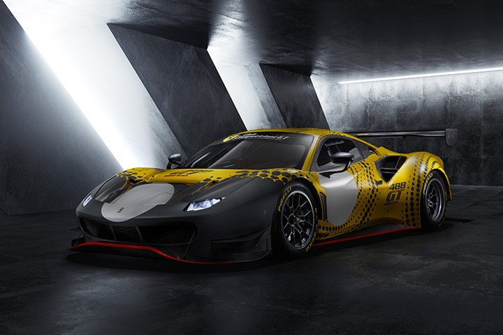 Ferrari 488 GT Modificata - GT Racing Cars