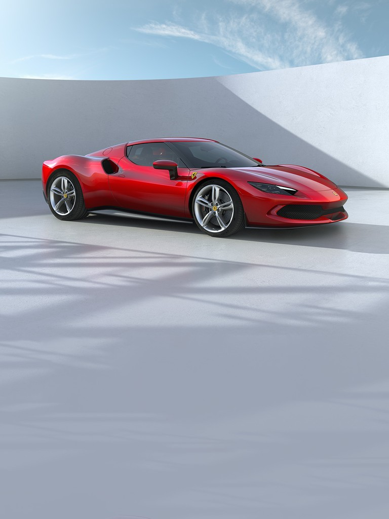 The 296 GTB, an evolution of Ferrari's mid-rear-engined two-seater sports berlinetta concept, represents a revolution for the Maranello-based company as it introduces the new 120° V6 engine coupled with a plug-in (PHEV) electric motor capable of delivering up to 830 hp.